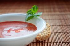 Free Delicious Tomato Soup Royalty Free Stock Image - 17194326