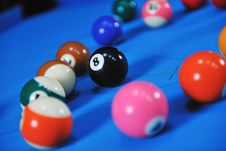 Free Young Man Play Pro Billiard Game Royalty Free Stock Photography - 17194357