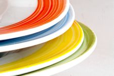 Free Colored Dishes Stock Photo - 17194440