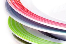 Free Colored Dishes Stock Photography - 17194462