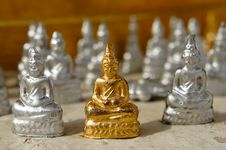Free Little Buddha Stock Image - 17195261