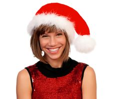 Free Christmas Girl Royalty Free Stock Images - 17196689