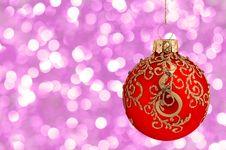 Free Christmas Ball Stock Images - 17196744