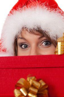 Free Christmas Girl Stock Photo - 17196750