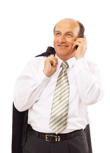 Free Portrait Of Casual Businessman Stock Image - 17196821