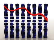 Schedule Of Decline 1 Stock Images