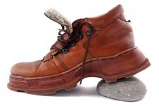 Free Brown Boots Stock Image - 17197691