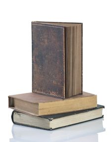 Free Collection Of Old Books Royalty Free Stock Images - 17197769