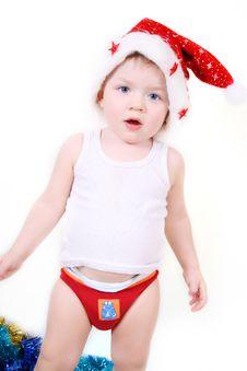 Free Boy Santa Claus Royalty Free Stock Image - 17198236