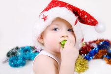 Free Boy Santa Claus Stock Photos - 17198263