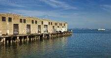 Free Shipping Dock On The Water Stock Photos - 17199103