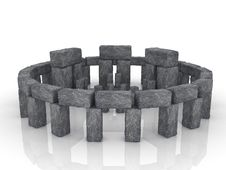 Free Stonehenge. Large Boulders Are Stones Stock Images - 17199454
