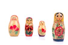 Free Russian Nesting Doll Royalty Free Stock Photo - 17199505