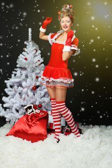 Free Snow Girl Stock Image - 17199641