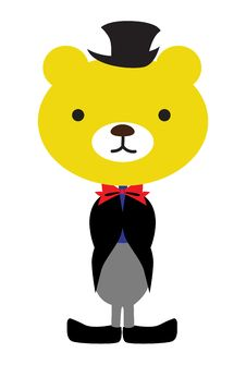 Free Bear Wearing Tux Royalty Free Stock Images - 17199679