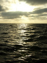Free Sunset Over Sea Stock Photography - 1721352
