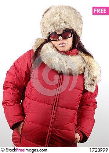 Winter fashion #3 Stock Photo