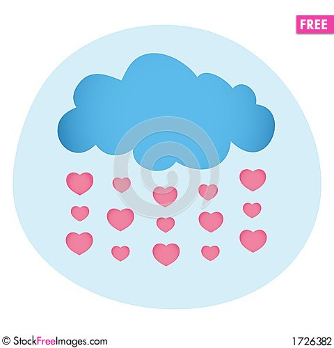 Free Love Is In The Air Stock Photography - 1726382