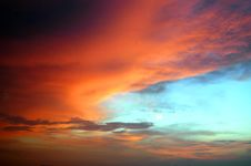 Free Colorful Clouds Stock Images - 1720114