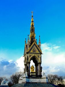 Free The Albert Memorial Royalty Free Stock Photography - 1720237