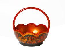 Free Hohloma Bowl Stock Image - 1721061