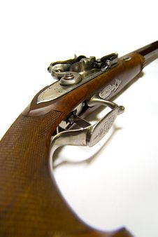 Free Antique Handgun Royalty Free Stock Image - 1721346