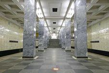 Free Subway Station 2 Royalty Free Stock Photos - 1721408