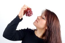 Free Grapes Tasting 3 Stock Photos - 1723913