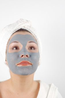 Spa Mask 16 Stock Photo