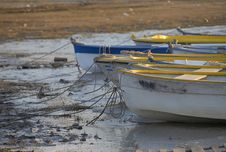 Free Boats In The Lake Stock Photo - 1725560