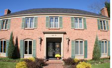 Free Large Two Story Brick House Royalty Free Stock Photos - 1726478
