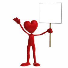 Free Valentine - Sign Stock Photos - 1726593