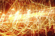 Free Light Streak Pattern Royalty Free Stock Photos - 1726718