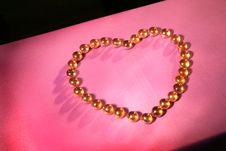 Free Glisten Heart Balls Stock Photo - 1726830