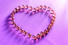 Free Glisten Heart Balls Royalty Free Stock Images - 1726949