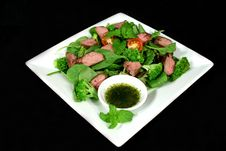 Free Lamb Salad 1 Stock Image - 1727581