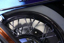 Free Motorcycle Wheel Royalty Free Stock Photos - 1728948
