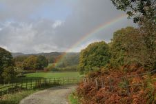 Free Loughrigg Rainbow Stock Photography - 1729932