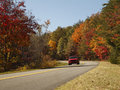 Free Scenic Fall Drive Royalty Free Stock Image - 17207036