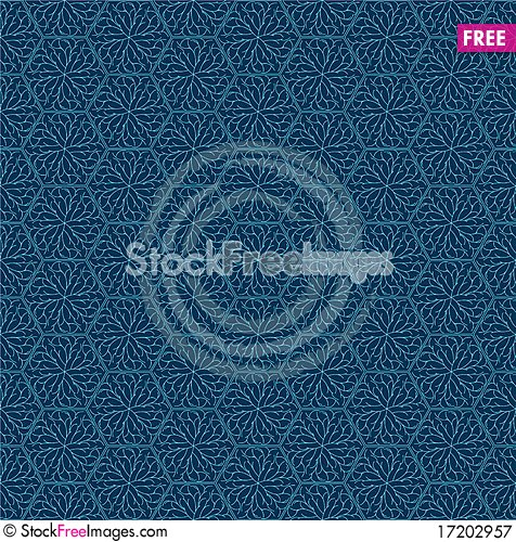 Free Pale Blue Damask Royalty Free Stock Photography - 17202957