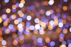 Free Blurred Christmas Lights Royalty Free Stock Images - 17200039