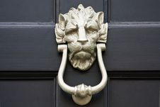Free Door Knocker Close Up Stock Image - 17200251