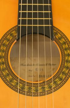 Free Detail Of A Portuguese Guitar Stock Images - 17200284