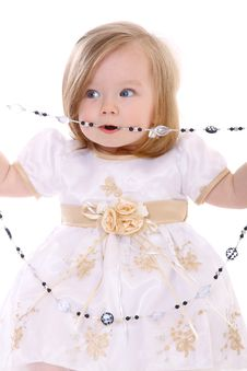 Free Baby Girl Royalty Free Stock Photo - 17200925
