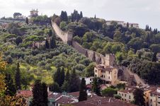 Free Italy - Firenze - Old Fortification Walls Royalty Free Stock Image - 17200956