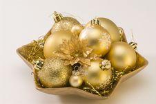 Free Christmas Arrangement. Stock Images - 17201044