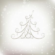 Free Christmas Tree Beautiful For Your Design Stock Photos - 17201803