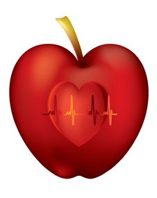 Free An Apple A Day Keeps The Doctor Away Royalty Free Stock Photo - 17202205
