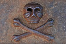 Free Iron Cast Skull Royalty Free Stock Image - 17203476