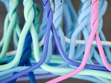 Free Colorful Hanger Stock Photo - 17204270